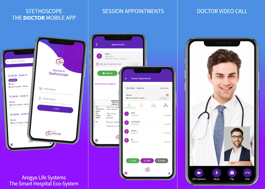Stethoscope – The Doctor's Mobile App