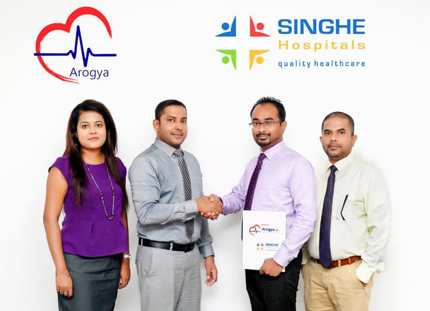 Singhe Hospitals PLC joins Arogya Life Systems